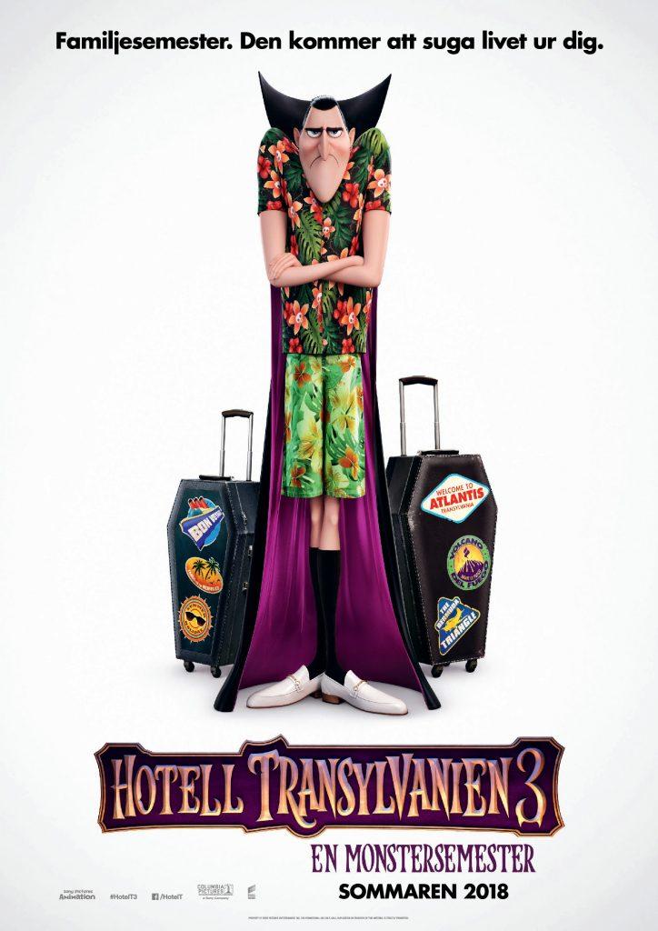 Sommarbio:Hotell Transylvanien 3: En Monstersemester (Sv. tal) (2D)