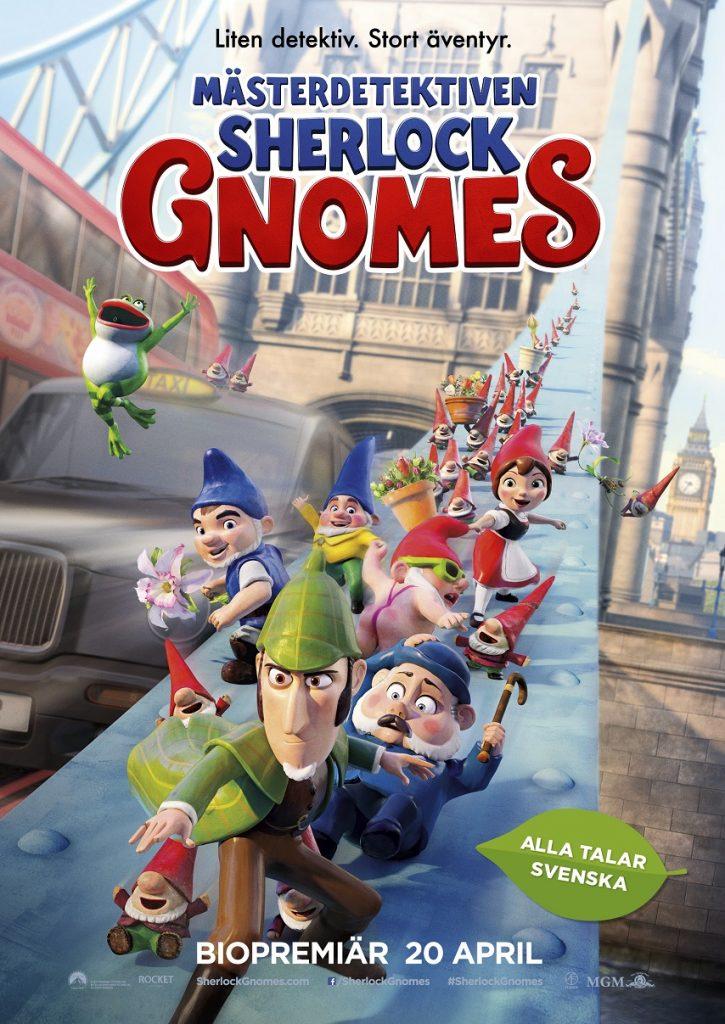 Mästerdetektiven Sherlock Gnomes (2D) (sv)