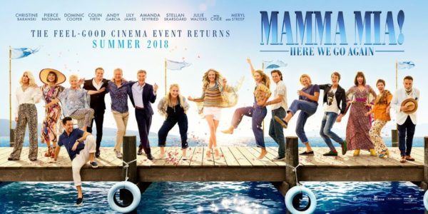 Sommarbio: Mamma Mia! Here We Go Again (2D)