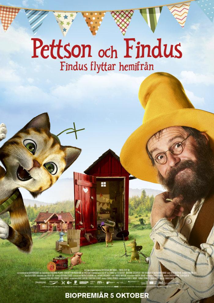Pettson och Findus - Findus flyttar hemifrån (Sv. txt) (Sv. tal) (2D)
