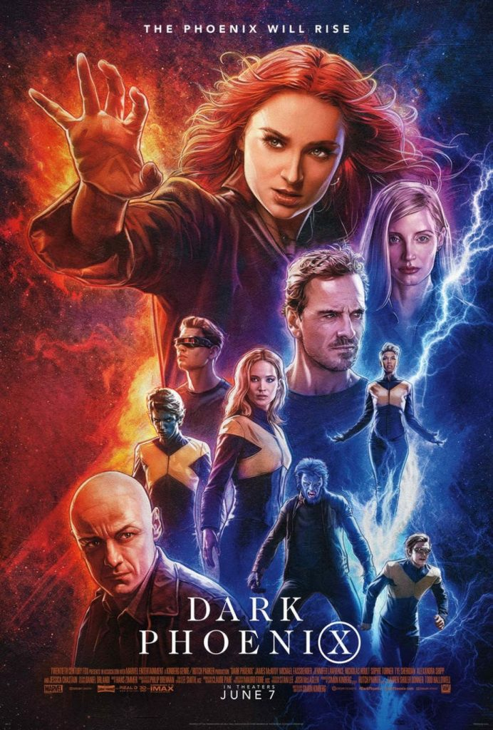 Sommarbio: X-Men: Dark Phoenix 2D