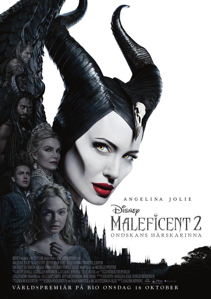 Maleficent 2: Ondskans Härskarinna (sv text, Eng tal)