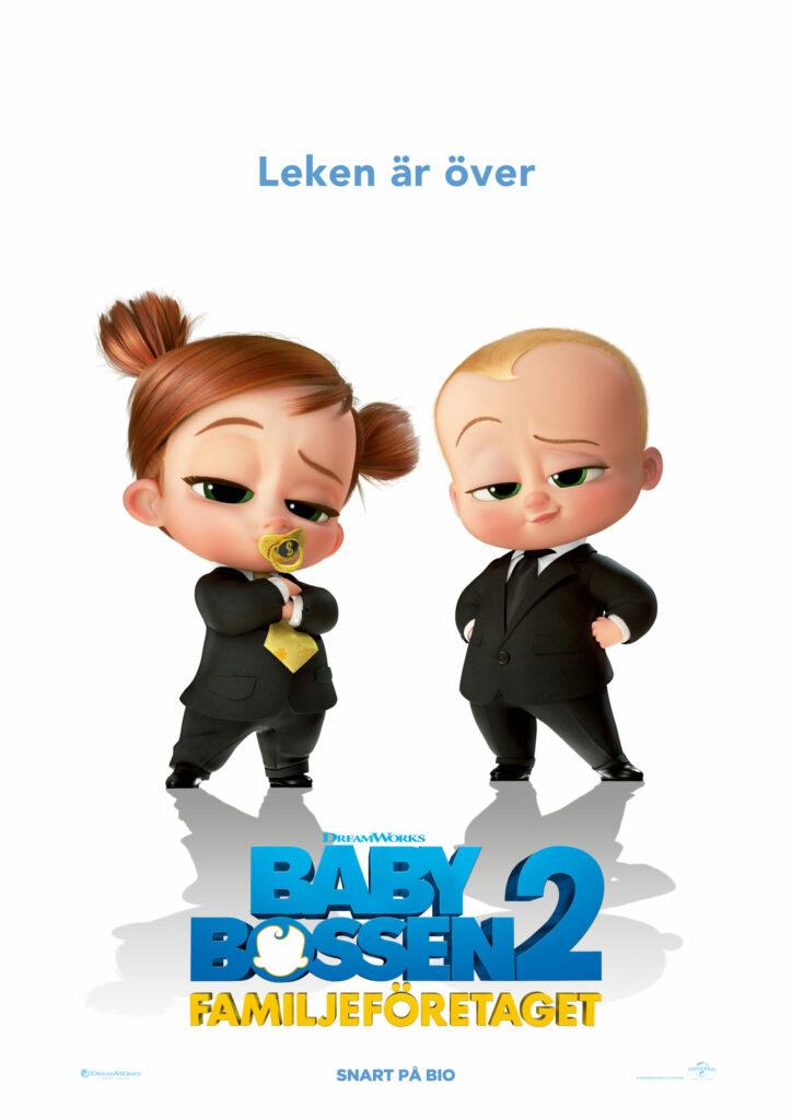 Baby-Bossen 2: Familjeföretaget (Sv. tal)